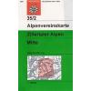 Zillertaler Alpen, Mitte turistatérkép - Alpenvereinskarte 35/2