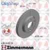 Zimmermann féktárcsa 430.2602.20