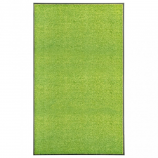 Zöld kimosható lábtörlő 90 x 150 cm lakástextília