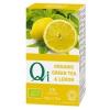 Zöld tea citrommal BIO 25x2g Qi
