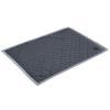 Zooplus Velvet gránitszürke puha takaró - H 100 x Sz 70 cm