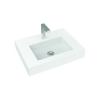 Zoya 60 öntött márvány mosdó 600x450x100mm
