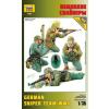 Zvezda German sniper figura makett Zvezda 3595