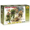 Zvezda Model Kit figurky 3597 - Soviet Sniper Team (1:35)