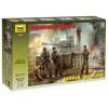 Zvezda Model Kit figurky 3614 - German Tank Crew (1943-1945) (1:35)