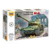 Zvezda Soviet Heavy Tank IS-II tank makett Zvezda 5011