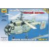 Zvezda Submarine hunter helikopter makett Zvezda 7214