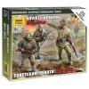 Zvezda Wargames (WWII) figurky 6103 - Soviet Infantry 1941 (1:72)