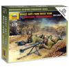 Zvezda Wargames (WWII) figurky 6135 - Soviet Anti-Tank team (1:72)
