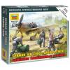 Zvezda Wargames (WWII) figurky 6188 - German airforce ground crew (1:72)