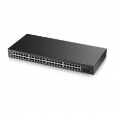 ZyXEL ZYXEL Switch 48x1000Mbps+2xSFP Smart Menedzselhető hub és switch
